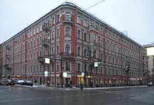 Санкт-Петербург, улица Восстания, 40